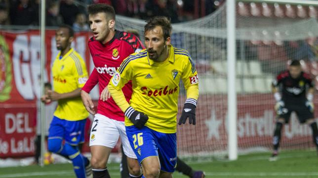 Aitor García no jugó ni un minuto ante el Córdoba.