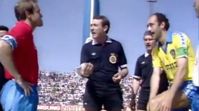 El 'ratoncito' Pardeza y Carmelo fueron los capitanes de Zaragoza y Cádiz en la mágica tarde de Kiko en Carranza.