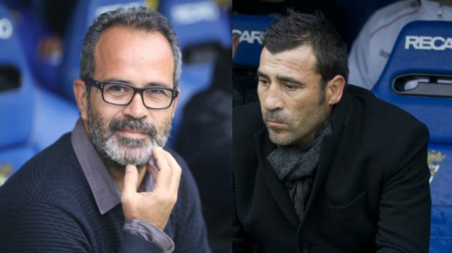 Álvaro Cervera y Raúl Agné, entrenadores con pasados comunes