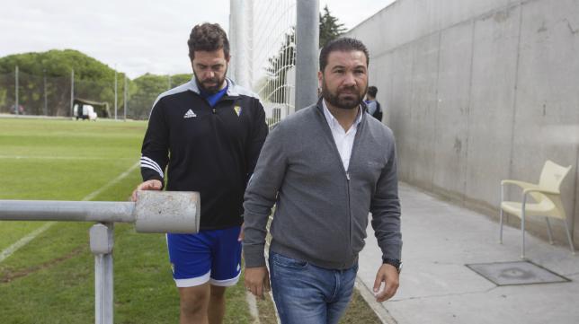 Juan Carlos Cordero en El Rosal.