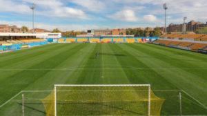 Santo Domingo, estadio del Alcorcón.