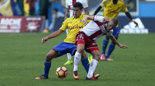 Cervera destacó la labor de Garrido en los minutos finales.