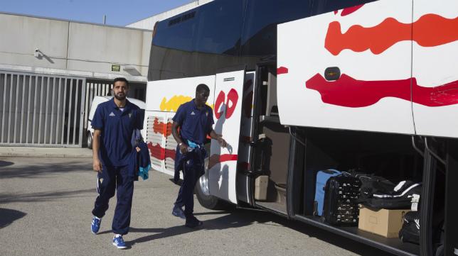 Güiza y Sankaré, en la convocatoria para el partido ante el Levante.