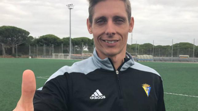 Antonio Ballesteros, nutricionista del Cádiz CF