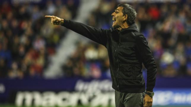 Muñiz, entrenador del Levante