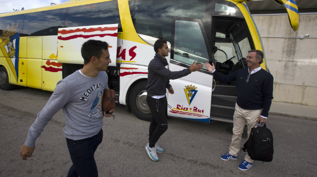 Luis Ruiz y Alvarito se quedan en casa al estar tocados.