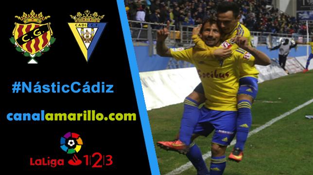 El Cádiz CF visita a un ansiado Nástic de Tarragona