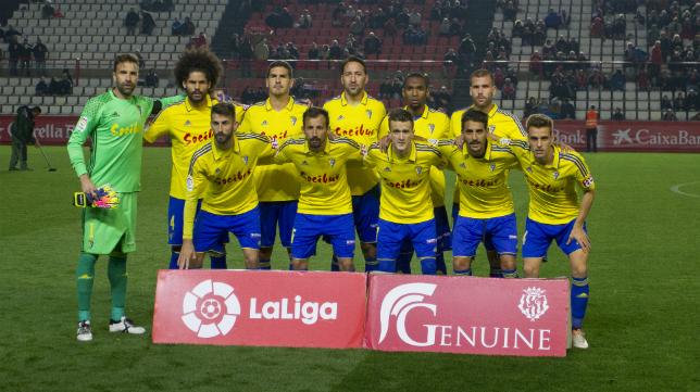 Mal partido del Cádiz CF en Tarragona
