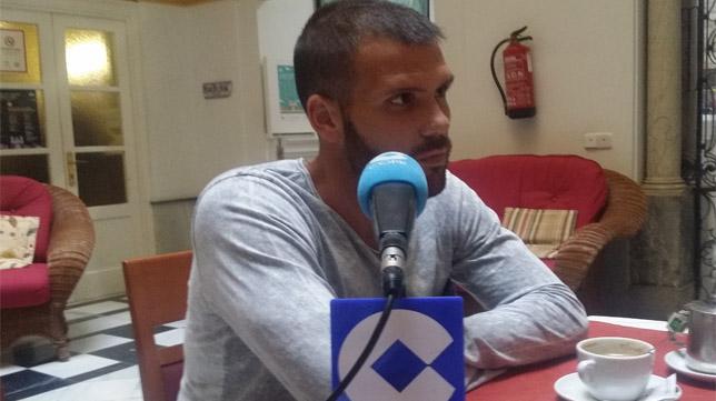 Alfredo Ortuño, protagonista en la tertulia de Deportes Cope Cádiz