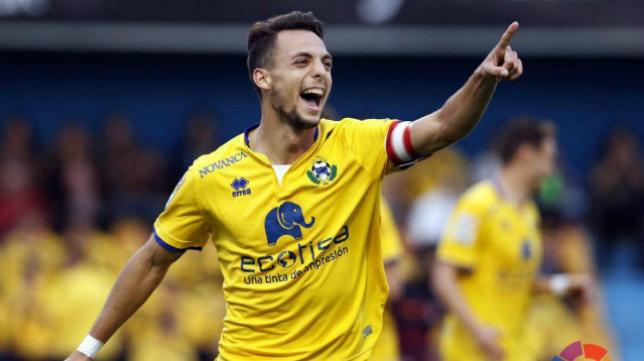 Óscar Plano es el futbolista más talentoso del Alcorcón. (foto: LFP)