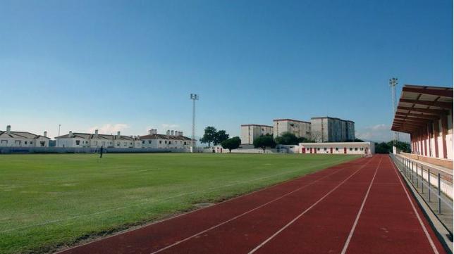 Campo Manolo Mesa de San Roque donde el Cádiz jugará un amistoso