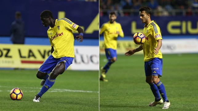 Sankaré y Luis Ruiz salieron tocados del partido ante el Alcorcón.