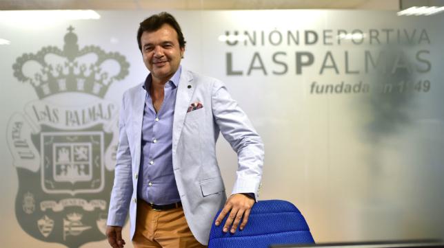 Toni Cruz, director deportivo de Las Palmas