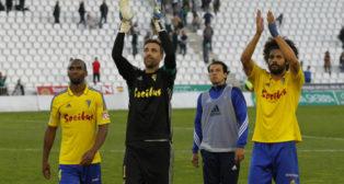 Abdullah, Cifuentes, Mantecón y Aridane celebran la victoria en Córdoba