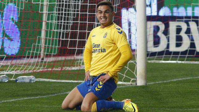 Adrúbal, un delantero de calidad en Las Palmas