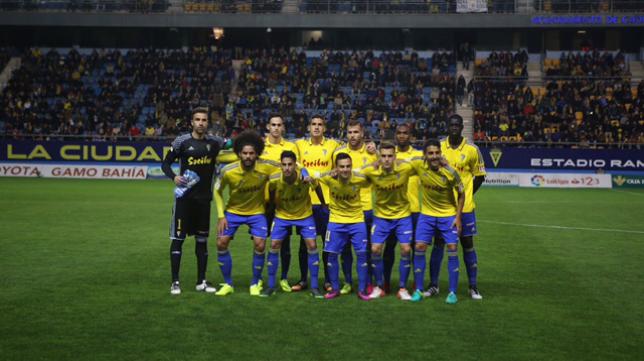 El Cádiz CF es el cuarto clasificado de Segunda al término de 2016.