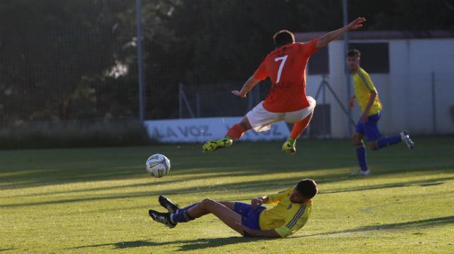 El Cádiz CF B regresa hoy al Rosal.