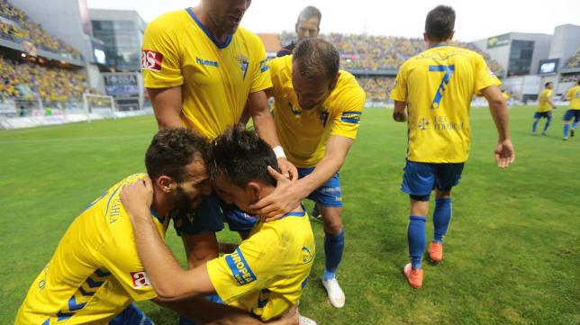 Carranza explotó con el gol de Carlos Calvo.
