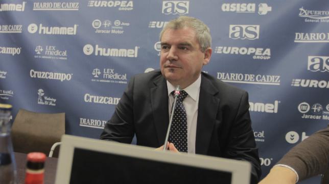 El presidente del Cádiz CF se dirigirá hoy a los accionistas de la entidad.