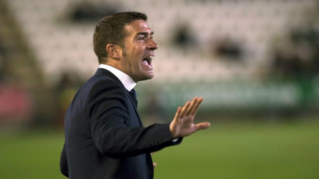 Luis Carrión, entrenador del Numancia.