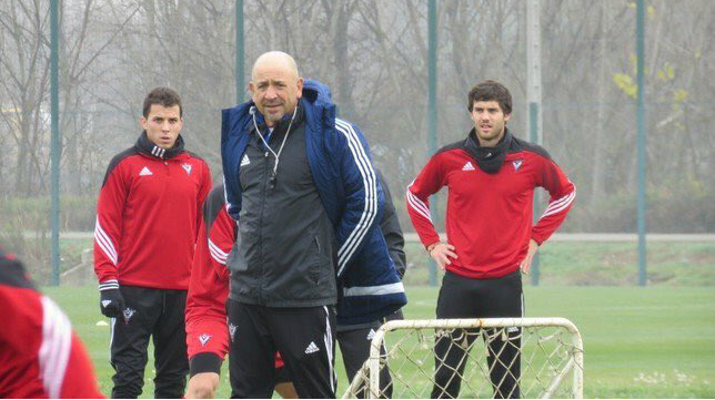 Claudio no regresará a Carranza con el Mirandés.