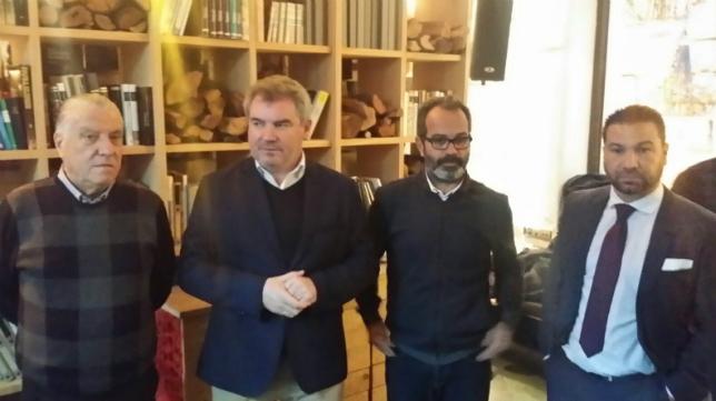 Juan José Pina, Manuel Vizcaíno, Álvaro Cervera y y Juan Carlos Cordero.