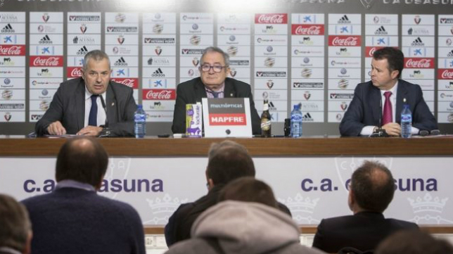 Fran Canal, director general de Osasuna. Foto: CA Osasuna.