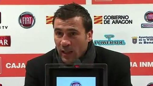 Raúl Agné, entrenador del Real Zaragoza y extécnico cadista.