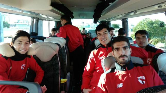 Diego González sí ha entrado en la convocatoria del Sevilla Atlético. Foto: Cantera SFC.