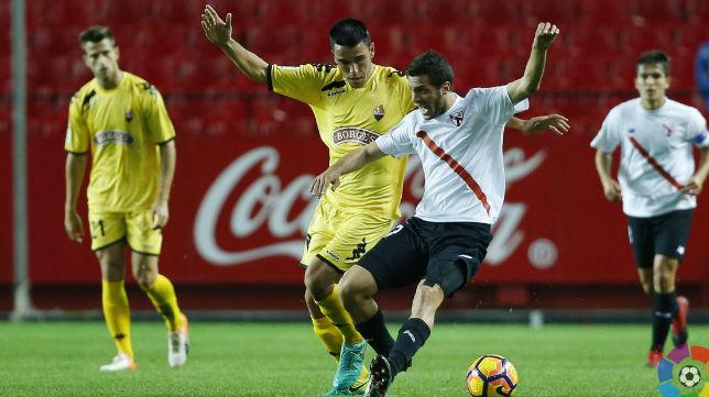 El Reus venció en el Sánchez Pizjuán al Sevilla Atlético esta temporada.