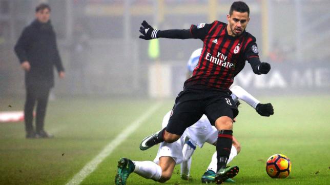 Suso, futbolista del AC Milan.