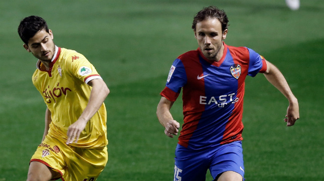 Joan Verdú está sin equipo tras jugar la pasada campaña en el Levante.