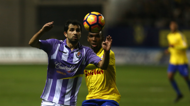 Valladolid y Cádiz CF se verán las caras en la última jornada.
