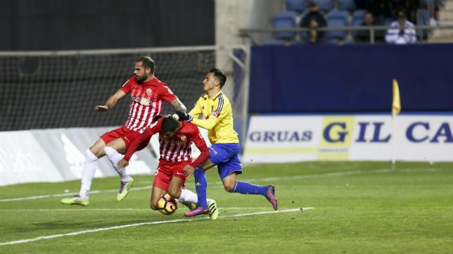 El Cádiz CF jugará la Copa del Rey ante la UD Almería.