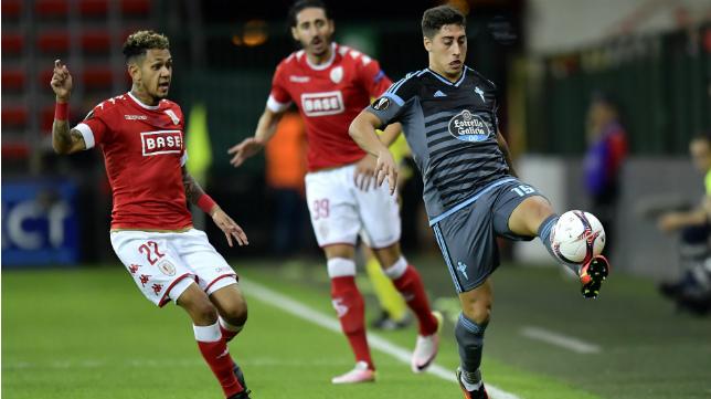 Álvaro Lemos ha jugado en la Europa League con el Celta de Vigo.