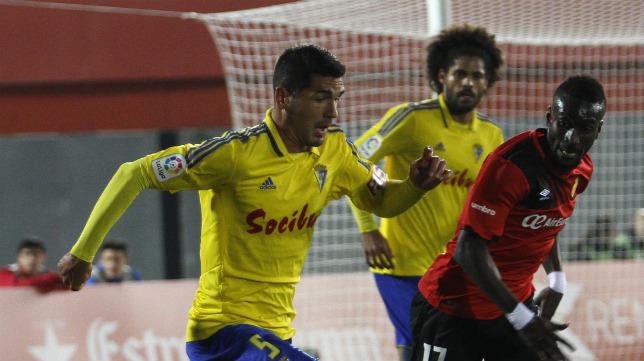 Garrido, en el partido ante el Mallorca, no viaja a Soria.
