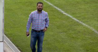 Juan Carlos Cordero, en El Rosal.