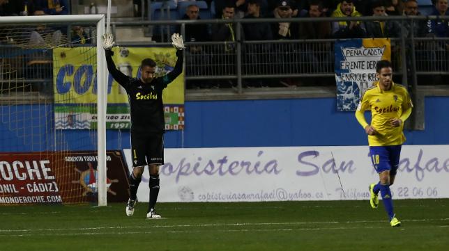 Cifuentes pide disculpas tras encajar el gol ante el Valladolid.