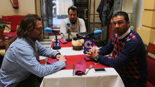 Juan Carlos Cordero en la tertulia de Cope Cádiz