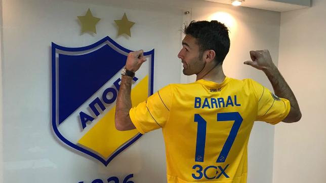 David Barral ha jugado este año en Apoel Nicosia.