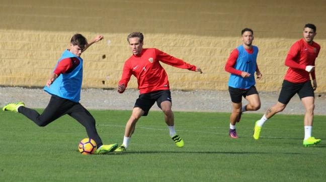 El Almería es el próximo rival del Cádiz CF en la Liga. Foto: UD Almería.