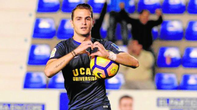 Jesús Imaz ha cambiado el UCAM por el Cádiz CF. Foto: La Verdad de Murcia.