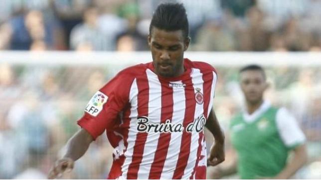 Jonás Ramalho, central del Girona FC. Foto: www.deia.com