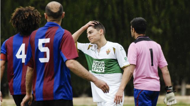 Liberto tendrá una prueba de fuego este sábado para saber si puede jugar ante el Cádiz CF.