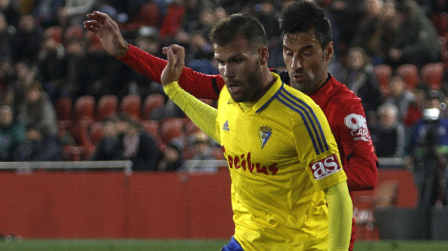 Ortuño fue titular en su regreso a Mallorca.