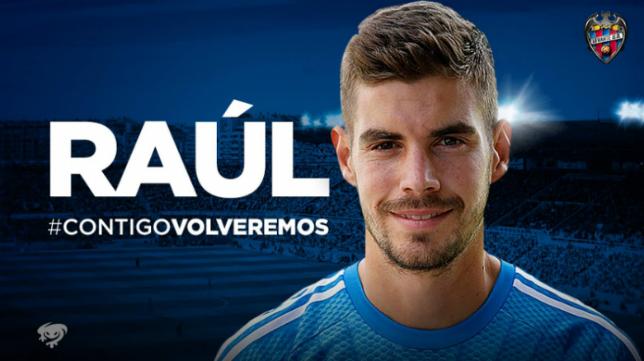 Raúl Fernández, portero del Levante UD. Foto: Levante UD..