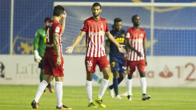 El Almería no logra despejar sus dudas esta temporada. Foto: Ideal.