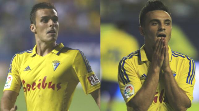 Brian y Álvaro García son dos de los jugadores más codiciados del Cádiz CF