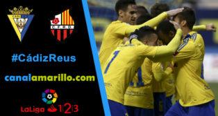 El Cádiz CF  quiere volver a ganar ante el Reus en Carranza