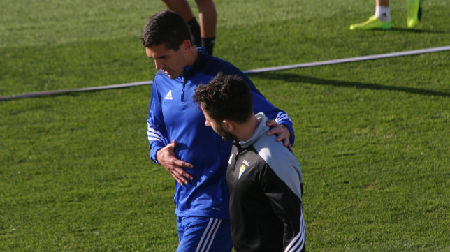 Garrido tampoco estará en Soria este domingo.